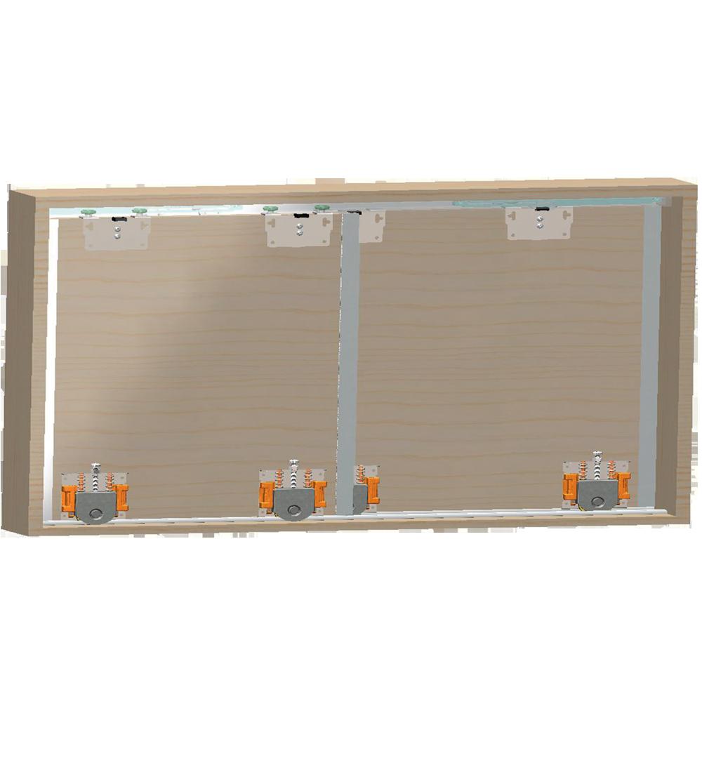 MS1004 – Lux Rayiçi Yavaşlatıcılı Kapak Mekanizması