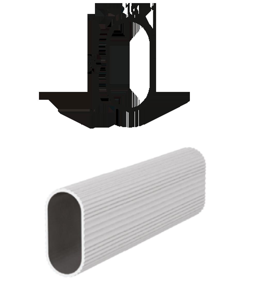 MS1015 – Alüminyum Askı Boru Profilleri